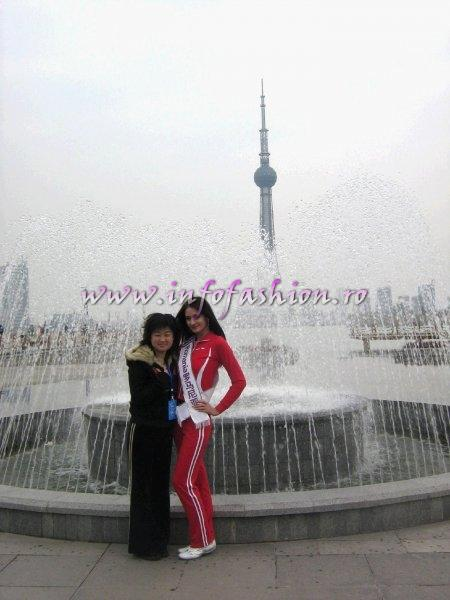 2008 Delia Duca at Miss Tourism Queen International in CHINA, Henan, 20 March-12 April