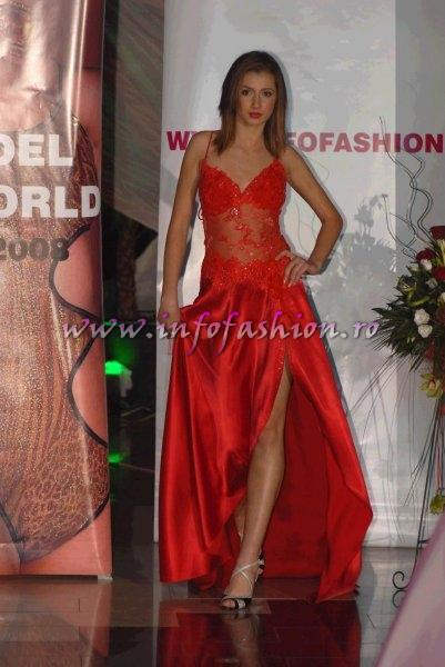 Mihaela_Soare la Top Model of The World si Miss Intercontinental Romania, Pitesti 2008 InfoFashion Platinum Agency