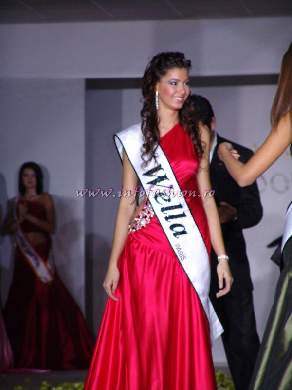 The Miss Tourism World would like to congratulate the beautiful Iancu Ecaterina on winning Model of the Universe 2005 in Turkey-Antalya!