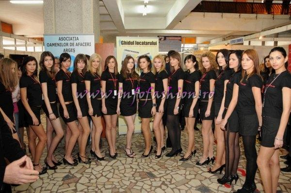 Romania Pitesti- vizita la AOA a concurentelor la Top Model of The World Romania si Miss Intercontinental Romania