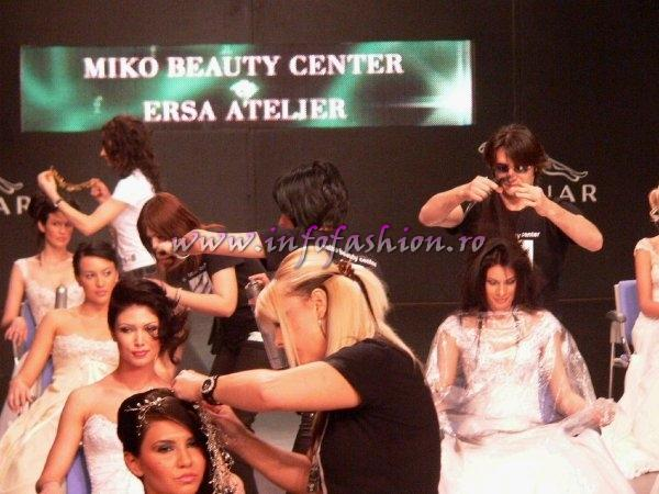 BFW 2008 Miko Beauty Center & Ersa Atelier Rochii mireasa la Bucharest Fahion Week