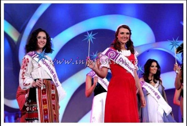 Denmark- Tine POHL at Miss Tourism Queen International in China 2008