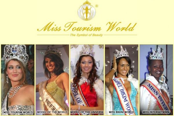 The new winners of Miss Tourism World Organisation
