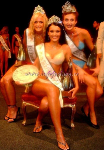 Costume_baie Mihaela Tudor Miss Bikini World 2002 in Malta, Premiul Presei la Model Of The World in Lebanon