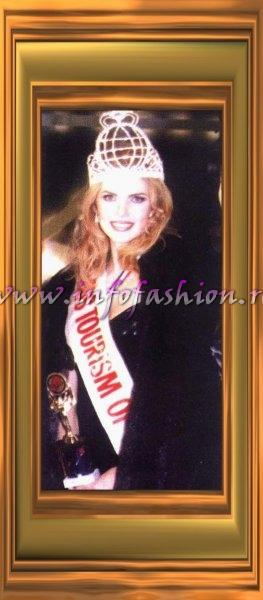 Finland- Anu Maarit Pekkarinen, Winner Miss Tourism Queen International 2003, VIP Guest at Grand Final Show in 2007, China