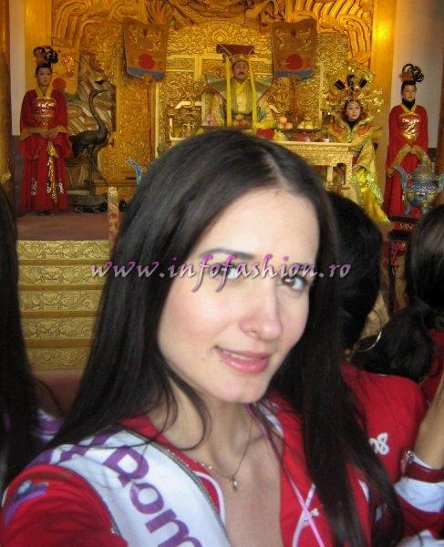 Delia Duca In Top 20 From 113 Contestants At MTQI CHINA- Miss Tourism Queen International In Henan, 20 March-12 April 2008