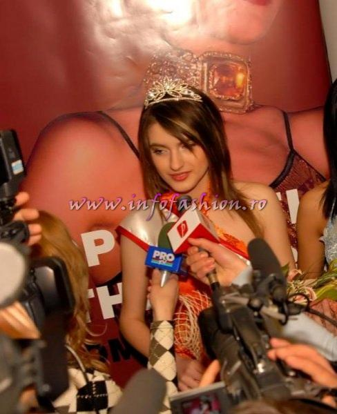 Simona_Bitiusca 2008 la Top Model of the World Romania, Premiul Miss Young Infofashion Platinum Ag in Pitesti
