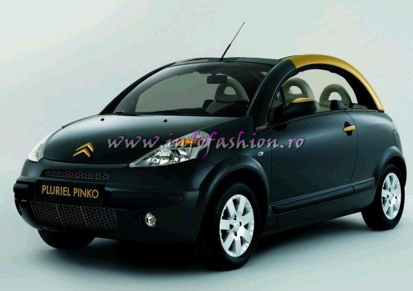 automobilul C3 Gold by Pinko