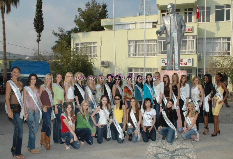 Tourist Objectives promoted by Models & Miss in Turkey
