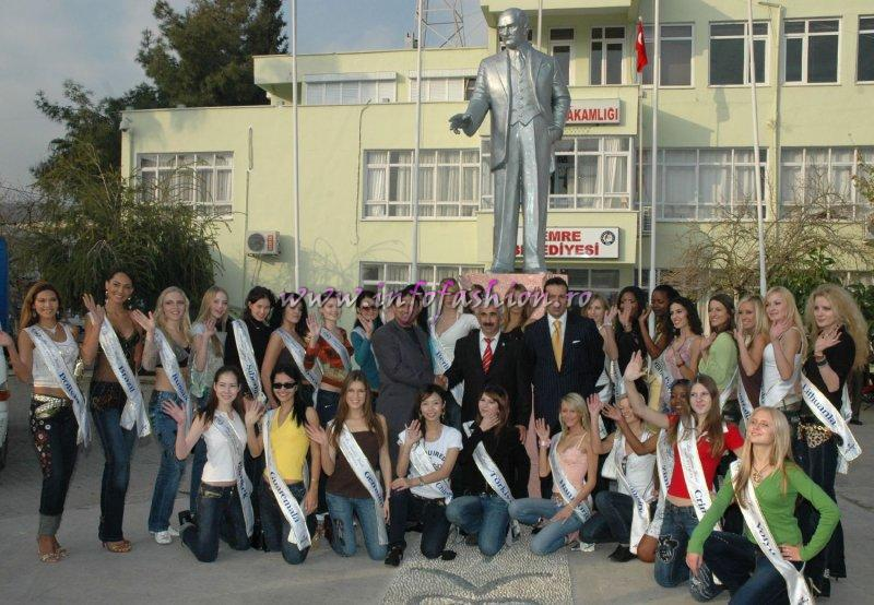 Turkey Model of the Universe & Miss Bikini World Antalya: Press Conference & Official Visit-Demre Mayor, Noel Baba Church (St. Nicholas)