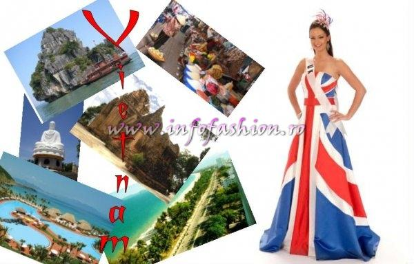 GREAT BRITAIN- Lisa Lazarus at Miss Universe 2008 in Vietnam
