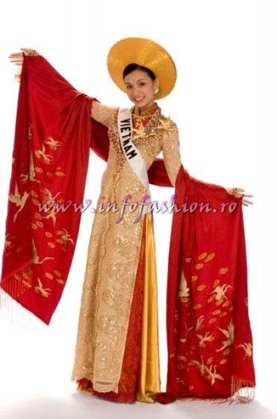VIETNAM_Lam Thuy Nguyen at Miss Universe 2008 in Vietnam