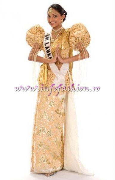 SRI_LANKA_Aruni Rajapakse at Miss Universe 2008 in Vietnam