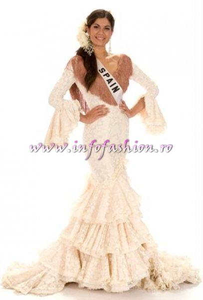 SPAIN_Claudia Moro in TOP 10 at Miss Universe 2008 in Vietnam
