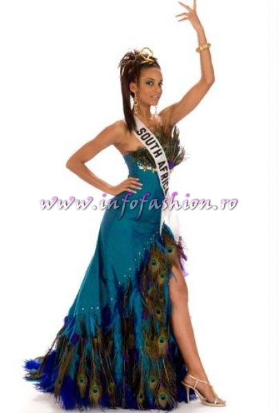 SOUTH_AFRICA_Tansey Coetzee at Miss Universe 2008 in Vietnam