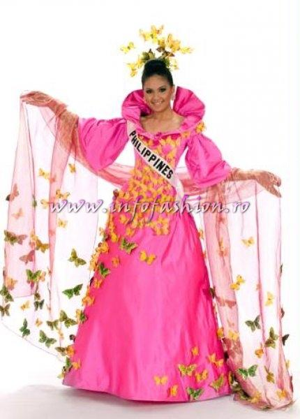PHILIPPINES_Jennifer Barrientos at Miss Universe 2008 in Vietnam