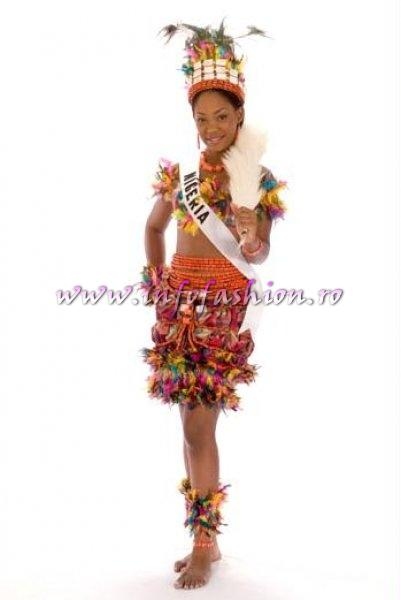 NIGERIA_Stephanie Oforka at Miss Universe 2008 in Vietnam