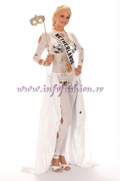 NETHERLANDS_Charlotte Labee at Miss Universe 2008 in Vietnam
