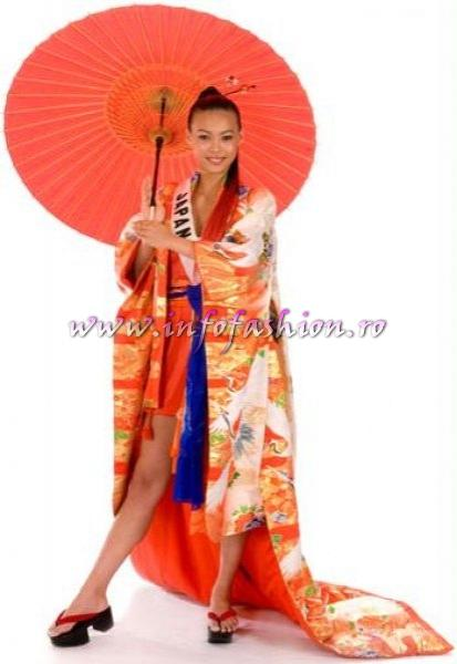 JAPAN_Hiroko Mima at Miss Universe 2008 in Vietnam