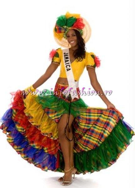 JAMAICA_April Jackson at Miss Universe 2008 in Vietnam