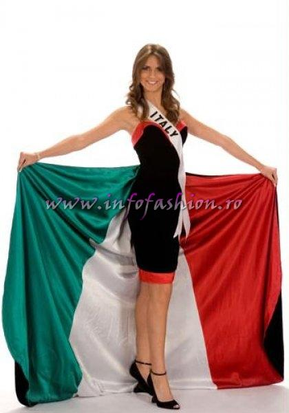 ITALY_Claudia Ferraris in TOP 10 at Miss Universe 2008 in Vietnam