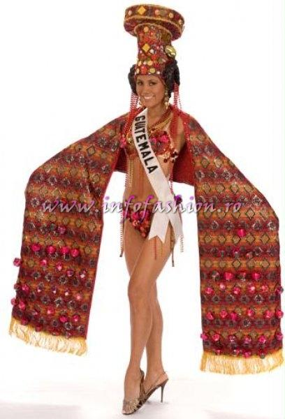 GUATEMALA- Jennifer Chiong National Costume for the title of Miss Universe 2008 during the 57th Annual Miss Universe competition from Nha Trang, Vietnam Credit: Miss Universe L.P., LLLP./HO