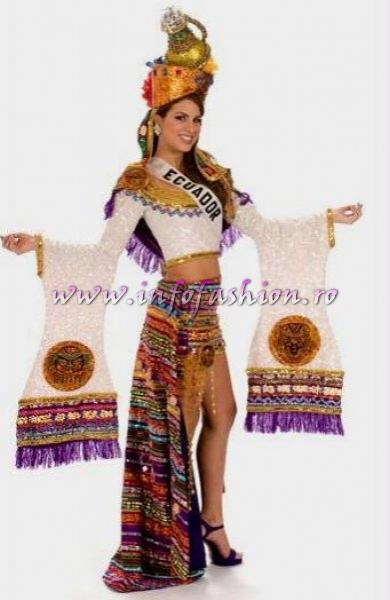 ECUADOR- Domenica Saporitti National Costume for the title of Miss Universe 2008 during the 57th Annual Miss Universe competition from Nha Trang, Vietnam Credit: Miss Universe L.P., LLLP./HO