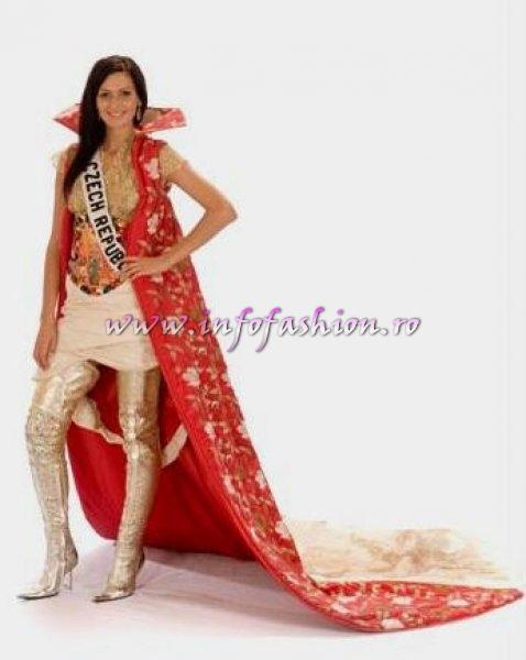 CZECH_REP_Eliska Buckova at Miss Universe 2008 in Vietnam