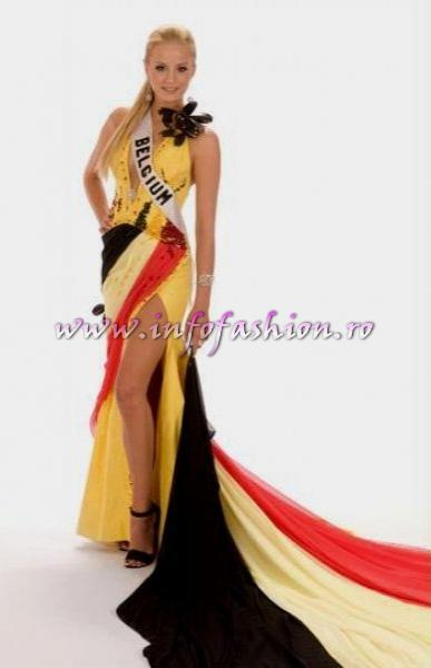 BELGIUM_Alizee Poulicek at Miss Universe 2008 in Vietnam