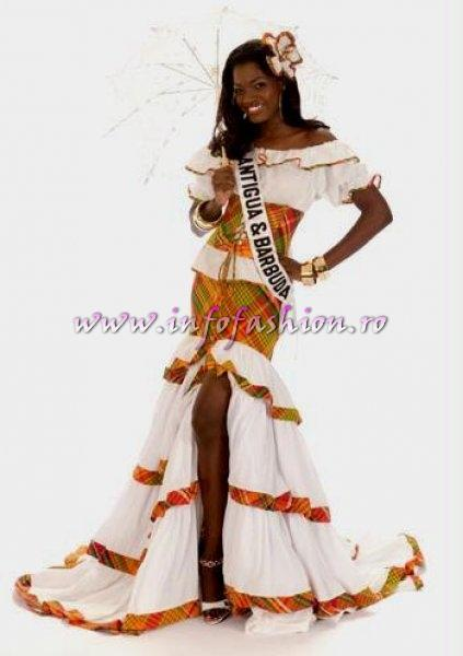 ANTIGUA & BARBUDA- Athina James National Costume for the title of Miss Universe 2008 during the 57th Annual Miss Universe competition from Nha Trang, Vietnam Credit: Miss Universe L.P., LLLP./HO