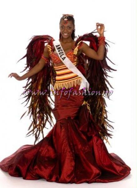 ANGOLA_Lesliana Pereira at Miss Universe 2008 in Vietnam