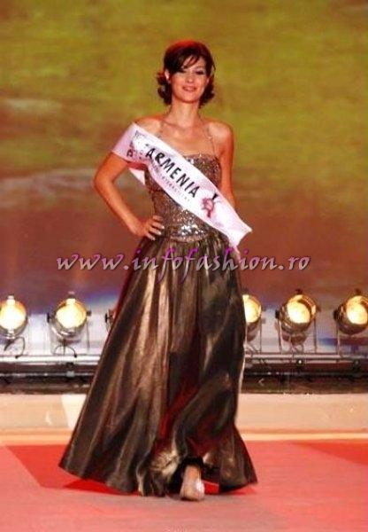 Armenia_Olga Barsegyan at Miss Globe International Albania 2007