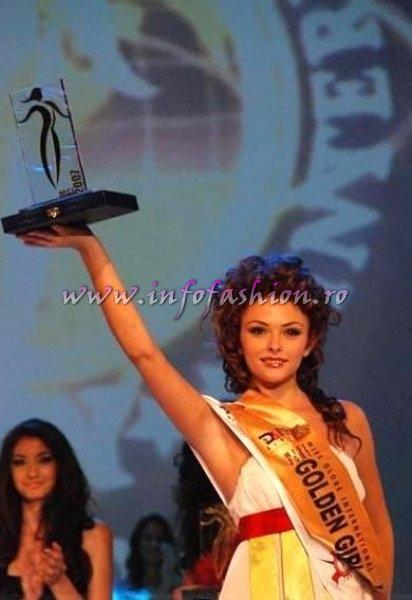 Albania_Irsa Demneri 1st runner up and Miss Golden Girl Miss Globe International Albania 2007
