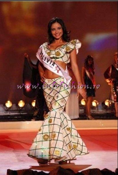 Bolivia_Yohana Paola Cuellar Chavez at Miss Globe International Albania 2007