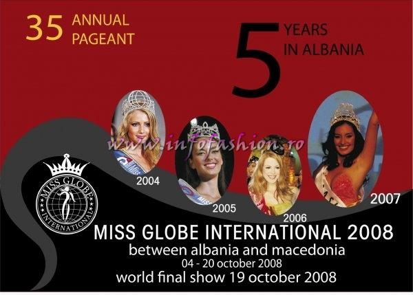 Brasil /Brazil- Helen Cristina Alves Da Silva, WINNER and Miss Talent Intercontinental of Miss Globe International Albania 2007