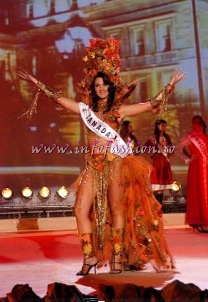 Canada_Stefania Cerbino, Best National Costume Miss Globe International Albania 2007