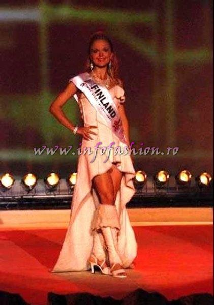 Finland_Maaret Miia Eronen at Miss Globe International Albania 2007