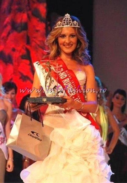 Greece, Ioanna Kravariti, 2nd runner up Miss Globe International Albania 2007