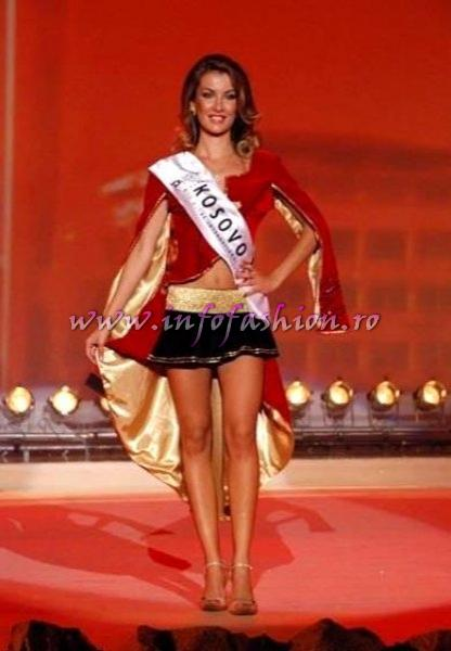 Kosovo_2007 Shqiponja Vlahna, MISS BIKINI PRINCESS OF THE WORLD Miss Globe International Albania