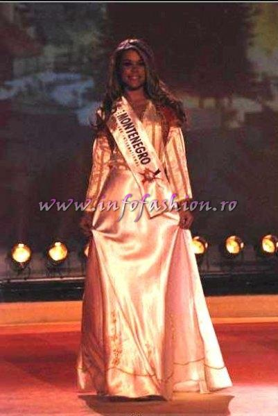 Montenegro_2007 Ivana Cetkovic in TOP 10 Miss Globe International Albania