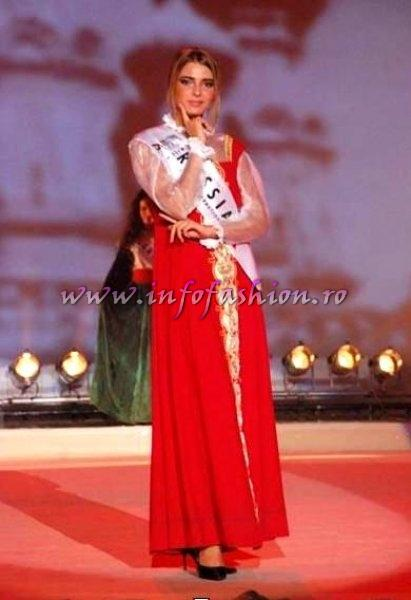 Russia_2007 Marina Perepelitsyna at Miss Globe International Albania