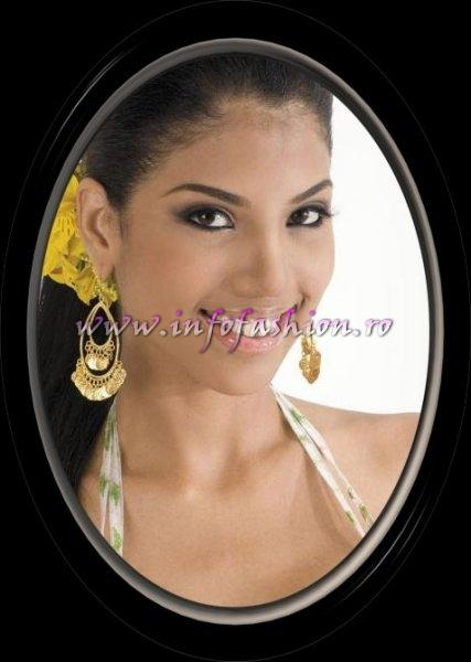 Venezuela- Iselmar Burgos Reyes, Miss Photogenic at Miss Intercontinental Seychelles 2007