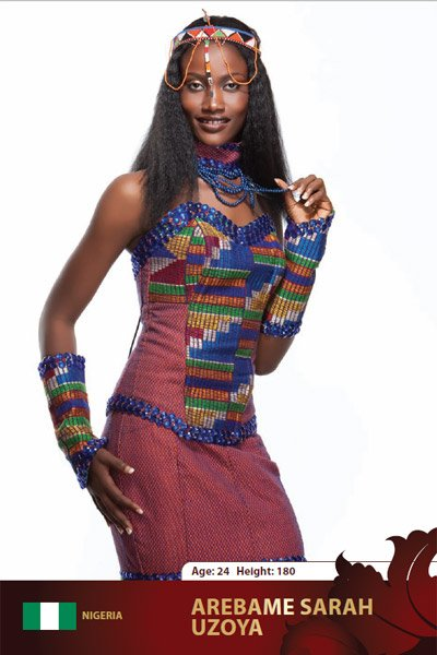 Nigeria- Sarah Uzoya Arebamen at Miss Intercontinental 2009 in Belarus