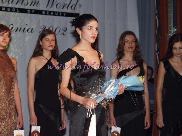 Nicoleta_Motei locul 3 la Miss Tourism World Romania 2002 Focsani /Infofashion Platinum Ag N_174CM
