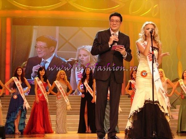 Moldova Rep. Ana Velesco, 3rd runner up at Miss Global Beauty Queen 2008 in Ningbo, China Photo: Henrique Fontes