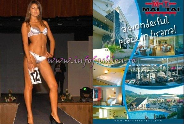 Romania Laura Barzoiu, 3rd runner up at Miss Bikini Globe International (Mai Tai Resort Tirana)