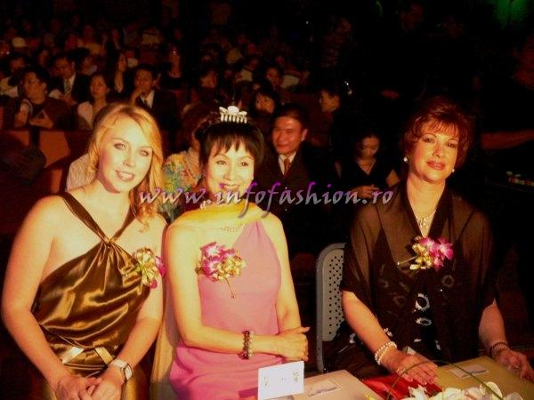 Ecuador_2007 Rocio Vallejo Tamayo, 1st r.up at Miss Young Intl 1972 in Japan andJudge for Jury Panel in Taiwan with Infofashion Platinum Ag Romania