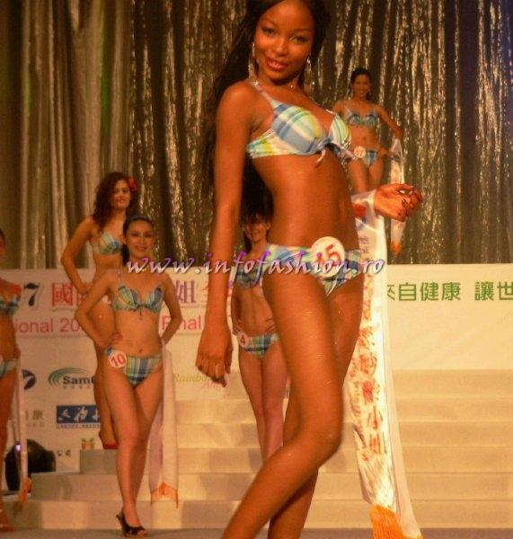 Nigeria Linda Onome Aberare at Final Miss Young International in Taiwan OCT. 2007