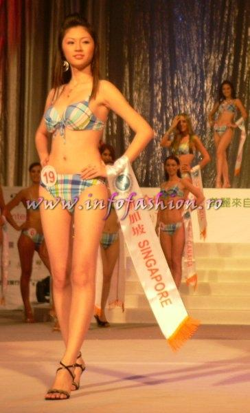 Singapore-Chen Kai Yan at Final Miss Young International in Taiwan OCT. 2007
