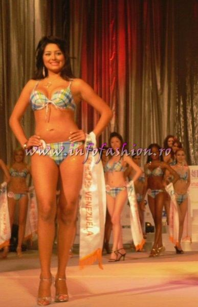 Venezuela- Yoraiima Kathrin Lopez Ceron at Final Miss Young International in Taiwan OCT. 2007